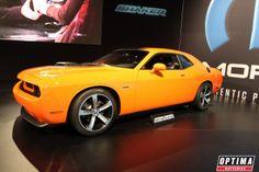Dodge Challenger at the Mopar booth at #SEMA 2013