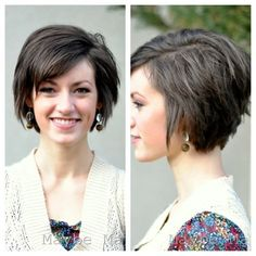Pretty Short Layered Hairstyle