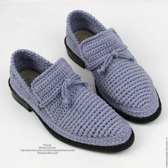 Обувь ручной работы. Заказать Туфли лоферы льняные мужские вязаные. Мадам Сапожок Ксения. Ярмарка Мастеров. эко обувь