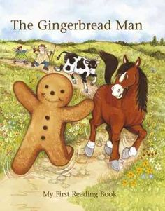"""Read """"Gingerbread Man My First Reading Book"""" by Janet Brown available from Rakuten Kobo. Run, run as fast as you can, you cant catch me, Im the Gingerbread Man! The Gingerbread Man outruns a little old lady, a. First Reading Books, Gingerbread Man Book, Kids Lighting, Stories For Kids, Childhood Memories, Winnie The Pooh, Books To Read, Disney Characters, Fictional Characters"""