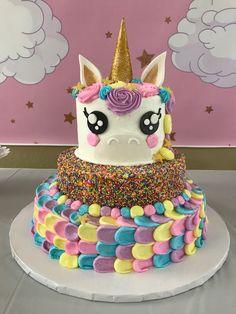 Unicorn Birthday Party Happy bday Goosie #5!