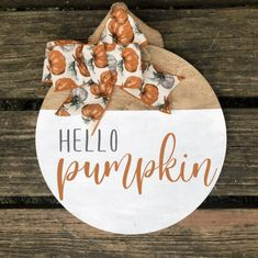 Fall Crafts, Holiday Crafts, Fall Craft Fairs, Wooden Door Signs, Wood Signs, Fall Door Hangers, Christmas Door Hangers, Halloween Door Hangers, Pumpkin Door Hanger