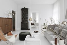 Earthly and Ethereal: An Apartment Makeover by Studio Oink