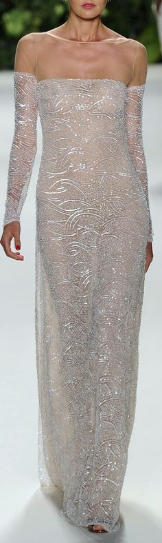 beaded Rebma couture Naeem Khan Spring 2014 RTW (The Gown Boutique ) Beautiful Gowns, Beautiful Outfits, Mode Glamour, Naeem Khan, Look Chic, Couture Fashion, High Fashion, Ball Gowns, Evening Dresses