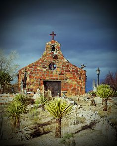 Church in New Mexico by salva1974 on Flickr                                                                                                                                                      More