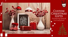 Treat your loved ones this Xmas season with some super fantastic customized gifts from ProImprint! Whatever your budget, you'll find something delightful that will enhance the beauty of the festive season :) Unique Christmas Gifts, Personalized Christmas Gifts, Holiday Decor, Christmas Makes, Xmas, Something Special, For Everyone, Customized Gifts, Giveaways