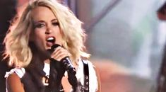 Country Music Lyrics - Quotes - Songs Modern country - Carrie Underwood Gives Beyonce A Run For Her Money With Killer 'Dirty Laundry' Performance - Youtube Music Videos http://countryrebel.com/blogs/videos/carrie-underwood-slays