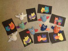 Isänpäivälahja ja -kortti (Alakoulun aarreaitta FB -sivustosta / Nina Mäkelä) Crafts To Make, Arts And Crafts, Little Ones, Presents, Kids Rugs, Crafty, Cards, How To Make, Owls