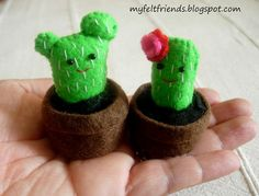 POTTED CACTI by adlinemakes, via Flickr