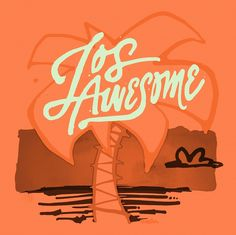 Los Awesome designed by Eric Marinovich