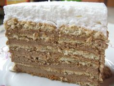 Keks torta starinska - Jednostavan ukus, a pun pogodak. Baking Recipes, Cake Recipes, Dessert Recipes, Cake Cookies, Cupcake Cakes, Food Cakes, Easy Desserts, Delicious Desserts, Oreo Cheesecake Bites