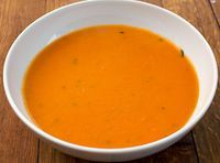 Cream Of tomato soup Recipes is One Of the Favorite soup Recipes Of Many Persons Around the World. Besides Easy to Create and Good Taste, This Cream Of tomato soup Recipes Also Health Indeed. Roasted Tomato Soup, Tomato Soup Recipes, Vegetable Recipes, Clean Recipes, Cooking Recipes, Healthy Recipes, Cream Of Tomato Soup, Canadian Food, Complete Recipe