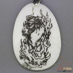 FASHION NECKLACE COLORING  DOG PENDANT WHITE GEMSTONE ZL7000575 #ZL #Pendant