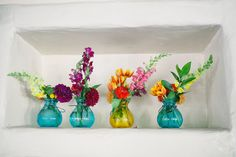 Whimsical, Bright, Summer Celebration - Flowers,  Wedding,  Centerpieces