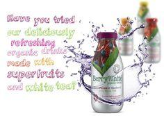 al eens een BerryWhite Drink geprobeerd?  De biologische dranken van BerryWhite zijn gemaakt op basis van witte thee extracten en superfruit. Nu in de december  maand in voordelige 4-Pack!  www.hempishop.nl