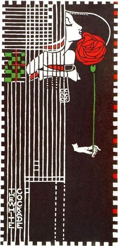 By Charles Rennie Mackintosh.