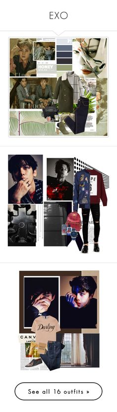 """""""EXO"""" by janjanzira-1 ❤ liked on Polyvore featuring SANDERSON, Chicwish, Pink Haley, Sole Society, L'Artisan Parfumeur, Chanel, Cheap Monday, Studio Concrete, Dolce&Gabbana and MCM"""