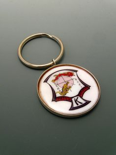 Items similar to Ed Parker Crest Sterling Silver Keychain on Etsy Kenpo Karate, Key Rings, Personalized Items, Sterling Silver, Key Chain, Unique Jewelry, Handmade Gifts, American, Etsy