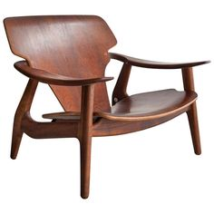Lounge Chair by Sergio Rodrigues | From a unique collection of antique and modern lounge chairs at https://www.1stdibs.com/furniture/seating/lounge-chairs/