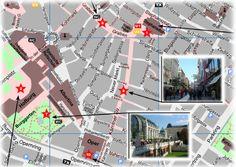 Vienna Tourist Map for Sightseeing - PDF 3 Days Trip, Visit Austria, Tourist Map, Vienna, Planer, Germany, Printable, Pdf, Tours