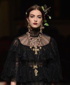 notordinaryfashion: Dolce & Gabbana Alta Moda Spring 2016