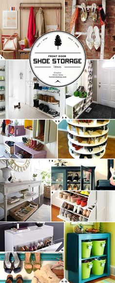 DIY Creative  Shoe Storage Ideas !.