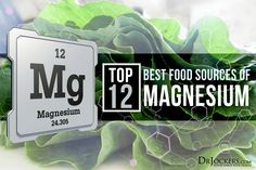 Top 12 Best Magnesium Rich Foods It is estimated that over of the population has a magnesium deficiency. This article goes over the top 12 best magnesium rich foods. Calm Magnesium, Foods High In Magnesium, Best Magnesium, Over The Top, Natural Cancer Cures, Natural Cures, Natural Healing, Nutrition Guide, Health And Nutrition