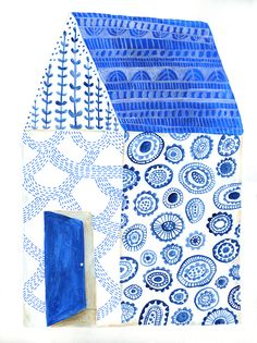 Lisa Congdon bluehouse