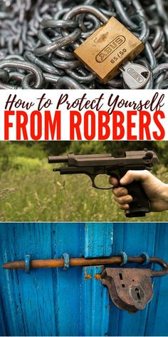 How to Protect Yourself from Robbers — When I think of a criminal and particularly a robber There are two things that come to mind. One is desperation. Someone must be pretty desperate if they are going to put themselves at risk to rob someone. Homestead Survival, Survival Tools, Survival Knife, Survival Prepping, Emergency Preparedness, Survival Hacks, Security Tips, Safety And Security, Home Security Systems