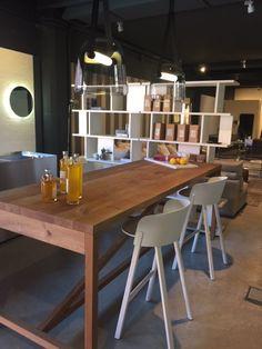 New elegant kitchen set by Boffi.