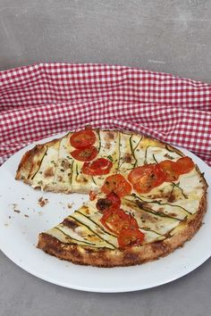 Prep & Cook, Vegetable Pizza, Vegetables, Food, Fitness, Gourmet, Pie, Oats Recipes, Delicious Dishes