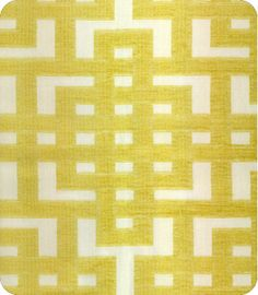 """$35.00/ yd Qty (yds):     Item ID1108441 StyleAkiran Color Sundrop Bk & Cash Repeat9"""" Width54"""" ContentNot Provided TAGSGeometric, Yellow/Gold"""