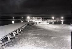 The main pier at Sylvan Lake 1944 Sylvan Lake, AB