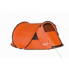 #GelertDLX3werptent'Grapefruit' - Opzetten in enkele seconden - Compact in vervoer - Lichtgewicht constructie  - Voor en achter ventilatie - Extra grote leefruimte  - Gewicht: 1,6 kg - Buitenzeil: 190T Polyester met waterbestendige PU coating - Grondzeil: 110g/m² Polyethylene - 6 mm Fibreglass stokken   http://www.festivalking.com/nl/op-de-camping/tenten-1/festival-tenten/gelert-dlx-3-quickpitch-grapefruit.html