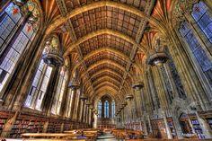 La bibliothèque Suzzallo de l'université de Washington, Seattle © Andrew E. Larsen /