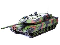 The Tamiya R/C Leopard Full Option in 1/16 scale is a radio control model tank kit. The RC Leopard Full Option model comes with DMD Unit T-07 for real action movement, lighting and digital sound effects.  It has 2 lighting modes (same as the real tank) for a total of 7 lighting combinations.
