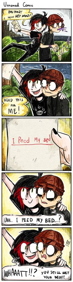 Unnamed Comic - Prank by EYEB0NEZ on DeviantArt