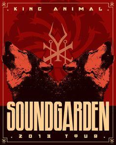 Soundgarden Poster by Sala Boli on CreativeAllies.com