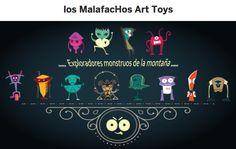 [recomendado] Juguetes que son solidarios y sostenibles: los MalafacHos Art Toys ➜ http://rescatatalentos.com/art-toys/