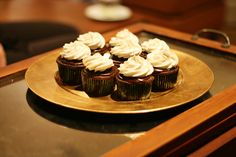 chocolate + whiskey :: Irish Coffee Cupcakes Recipe