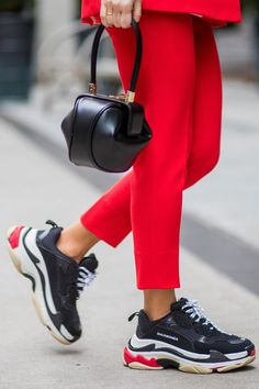 5e6ca1bb751b Topshop Finally Re-Created Those Balenciaga Sneakers Everyone s Wearing  Sneakers Street Style