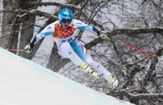 DAY 13:  Matthias Mayer of Austria competes during the Alpine Skiing Men's Giant Slalom http://sports.yahoo.com/olympics