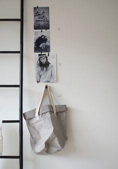 Carry Paper Bag Two UASHMAMA available #heimelig-shop.com
