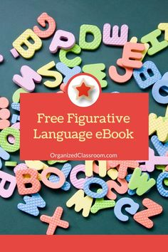Figurative language will make your students better writers. But, teaching it can be a task. Let's find some ways to make it fun, engaging, and memorable! #figurativelanguage #iteach4thgrade Teacher Freebies, Classroom Freebies, Art Classroom, Classroom Organization, Classroom Ideas, Teaching Jobs, Teaching Kindergarten, Teaching Strategies, Teaching Writing