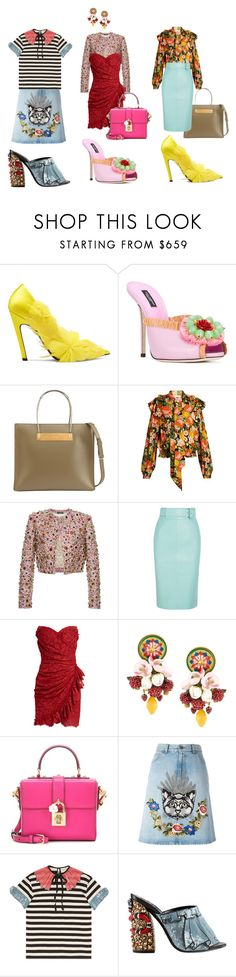 """Embellished Shoes"" by theworste ❤ liked on Polyvore featuring Balenciaga, Dolce&Gabbana and Gucci"