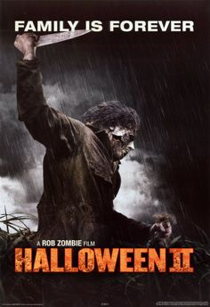 Now watching: the tail end of Halloween 2 (2009) on SyFy. Not horrible. I love Rob Zombie, though, so.