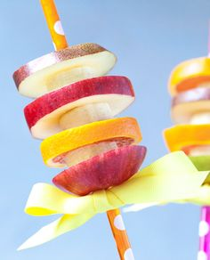 Fruity Twirls Recipe - Great for BBQ in the Summer and kid parties. #LilSnappers