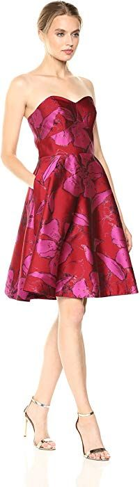 Shop a great selection of Shoshanna Women's Mikala Strapless Fit Flare Floral Dress. Find new offer and Similar products for Shoshanna Women's Mikala Strapless Fit Flare Floral Dress. Backless Prom Dresses, Long Bridesmaid Dresses, Long Jacket Dresses, Evening Party Gowns, Lace Overlay Dress, Gowns With Sleeves, Fit And Flare, Clothes For Women, Contemporary Dresses