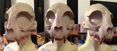 WIP - Cat Skull Mask 2 by Bueshang on DeviantArt