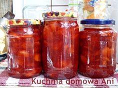 Kuchnia domowa Ani: Frużelina truskawkowa